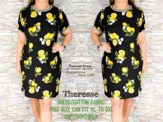 THERESSE DRESS Fits XL TO 3XL
