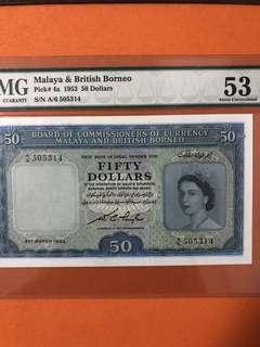 1953 MBB $50