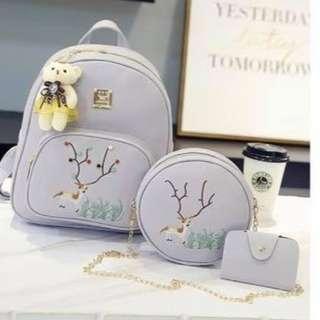 K-Backpack 3in1 Dainty Set