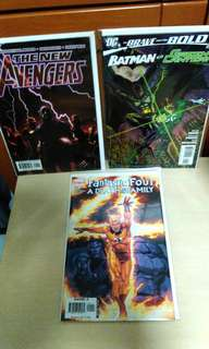 Marvel and DC comics issue 1 and first print.