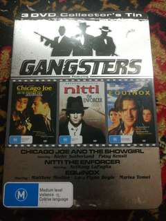3 DVD COLLEXTOR'S TIN GANGSTERS
