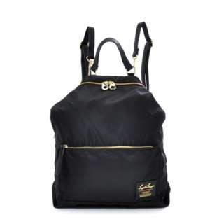 LH-K1041 [Legato Largo ] Black 2Way Nylon Backpack with Shoulder !    100% GENUINE !