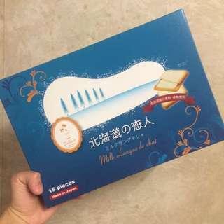 北海道之戀人 日本白朱古力餅