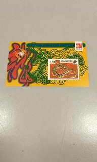 Milleminium gold stamps