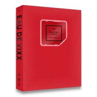 VIXX - Album Vol.3 [EAU DE VIXX] (Red Ver.) (KINO Album)