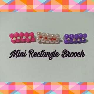 Handmade Pearl Beads Brooch