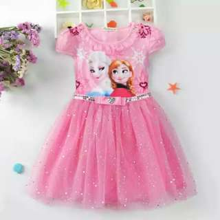 Frozen theme party dress