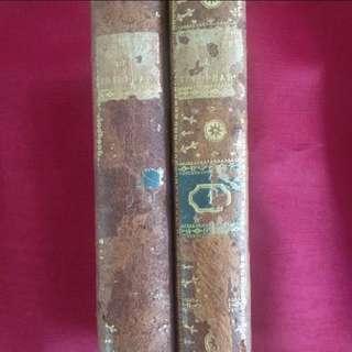 法國古董書兩冊