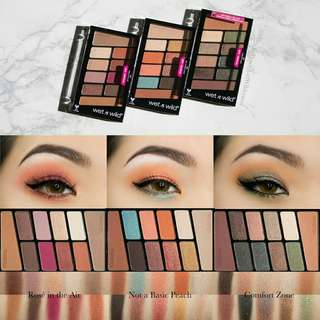 Wet and Wild color icon eyeshadow 10 Pan Palletes