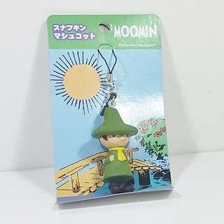 Moonmin Characters (Japan) 史力奇 軟膠公仔電話繩Snufkin soft PVC Mobile Strap