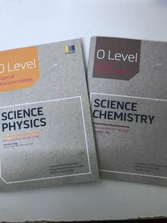 Olevel combined physics and chemistry guide books