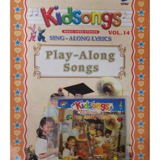 Kidsongs Play Along Songs Vol.14 VCD With Book
