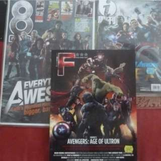 Avengers 8 days i weekly movie magazine