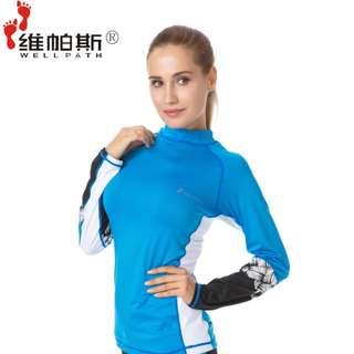 In Stock 💕2 Pieces suit Korean version of UV Rash Guard,  Swimsuit, Swimwear, Beach Wear, Snorkel Wetsuit, jellyfish wetsuit , Sport wear