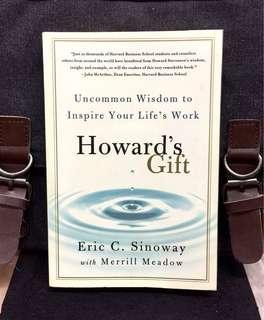 《Preloved Paperback + Harvard Howard Stevenson Wisdom on Success & Fulfillment》ERIC SINOWAY - Howard's Gift: Uncommon Wisdom to Inspire Your Life's Work