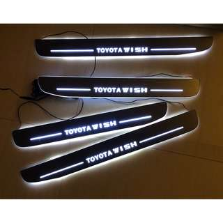Toyota Wish AE10 (2003-2009) LED Animated Door Scuff Plates