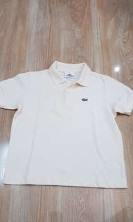 Preloved lacoste shirt size 8 - for 5 to 7 years old