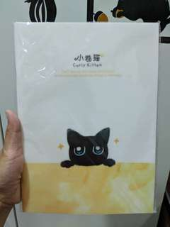 Lined cat notebook BNIP