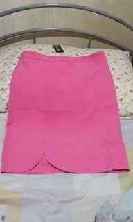 Pink Office Skirt