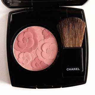 CHANEL Limited Edition: Jardin de Chanel (Blush Camelia Peche) (Blusher)