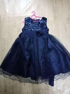 Glitter Dress (Navy Blue) #RayaLetgo