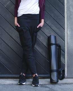 Lululemon Ohm and Roam untight Tight leggings/ pants