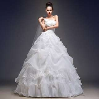 Princess Style Wedding Dress 2018 Bride Dress Simple Bridal Gown
