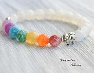 7 Chakra Healing Beads Bracelet
