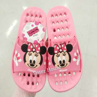 🇰🇷Disney Minnie Mouse Bath Slippers 浴室拖鞋
