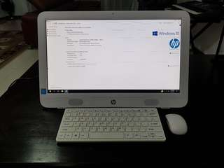 HP All in One PC Like New Condition