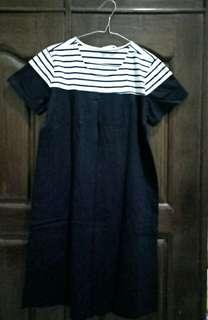 Dress hamil & menyusui (bahan kaos)