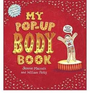 BRand New My Pop Up Body Books