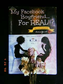 My facebook boyfriend for real - wattpad book