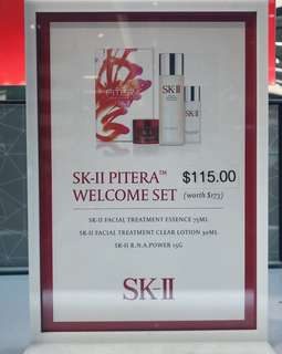 SK2 Pitera Welcome kit