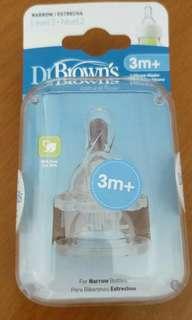 Dr Brown's Teats 3m+