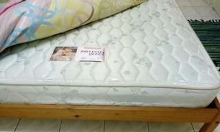 IKEA Queen Bed with matress