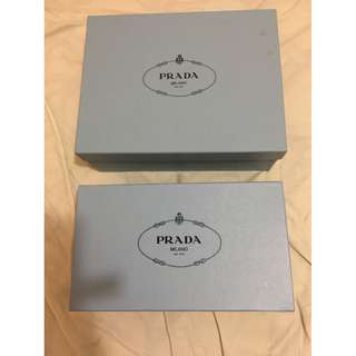 Prada 藍色盒