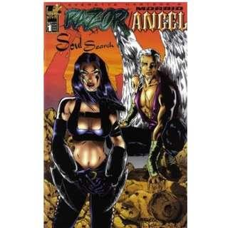 RAZOR & MORBID ANGEL: SOUL SEARCH #1 (LONDON NIGHT COMICS)