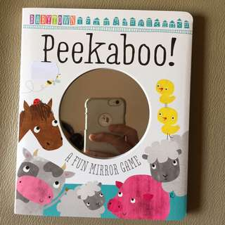 Peekaboo! Baby Town Board Book (by Make Believe Ideas)