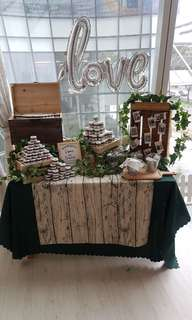 Dessert Table Setup Props