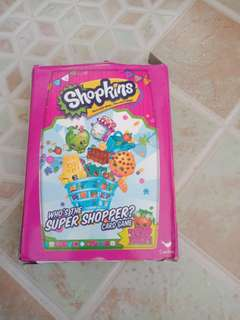 Shopkins Who's the Super Shopper Card Game