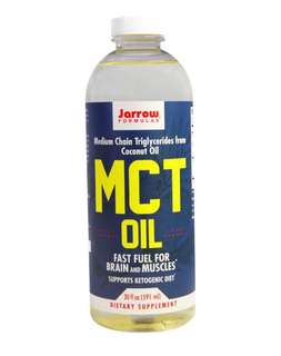 🚚 Formulas Jarrow Formulas, MCT 油, 20 fl oz (591 ml)