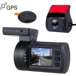 Mini 0906 Dashcam Front & Rear fullHD with GPS