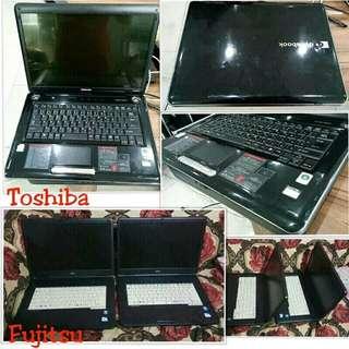 Toshiba nd Fujitsu Laptop