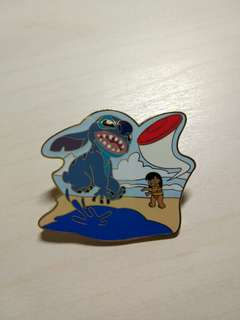 2005 stitch Disney Pin 迪士尼襟章 徽章