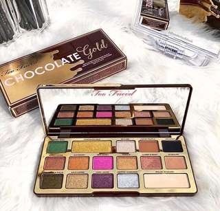 [Ramadhan Sale] Too faced chocolate gold palette