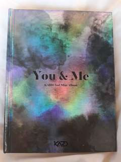 ALBUM KARD YOU AND ME