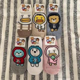 🚚 韓國 襪子 全新 正韓 🇰🇷 6雙