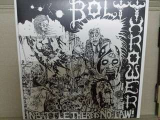 Vinyl Record LP: Bolt Thrower ‎– In Battle There Is No Law! - Grey Coloured Vinyl - U.K. Death Metal, Grindcore