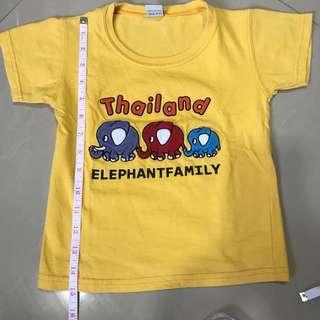 ❤️Freebie ❤️- Yellow Elephant Shirt